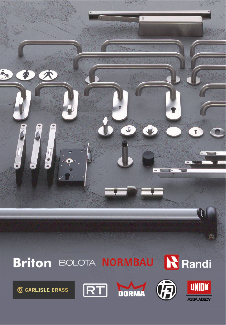 architectural ironmongery product range